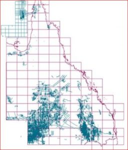 Seismic data Queensland