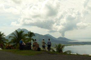 Active Tavurvur Volcano, Rabaul