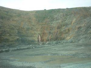 Gold mining Lihir Mine Papua New Guineaopen cut