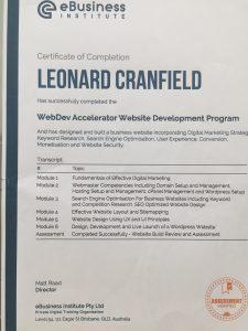Qualification For Web Dev Accelerator